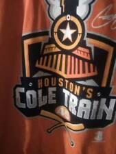 "Houston's ""COLE TRAIN"" T-Shirt XL ASTRO's Baseball USA SELLER"