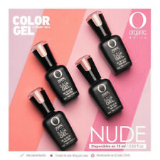 Organic Nails Color Gel Nude Collection 4-colors