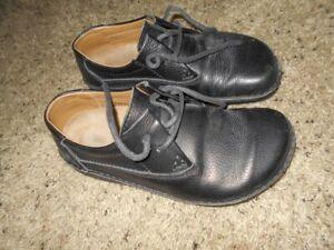 Birkenstock Footprints Women's Black Lace Tie Shoes Size 39 Ladies 8