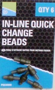 Preston Inline Quick Change Beads, Method Feeder, Futterkorb, Feeders