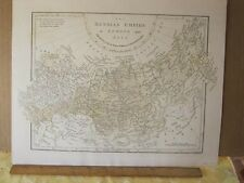 Vintage Print,RUSSIAN EMPIRE,Europe+Asia,Wilkinson,1801