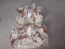 USGI COVER PASGT VEST, CAMOUFLAGE DESERT PATTERN SIZE SMALL AND MEDIUM