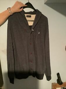 fred perry cardigan XXL. Grey. Authentic