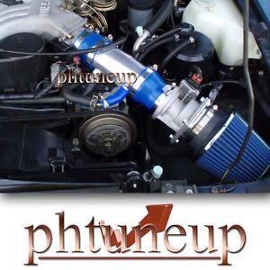 fit 1991-1995 NISSAN PATHFINDER LE SE XE 3.0 3.0L V6 RAM AIR INTAKE KIT BLUE