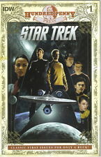 Star Trek Classic First Issue Comic Book #1, IDW Hundred Penny 2013 NEW UNREAD