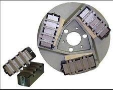 EDCO A101 Floor Grinder Kit 6 Dyma Serts 6 Cases 9 Wedges Concrete Terrazo Epoxy