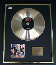 KISS CARNIVAL OF SOULS CD GOLD DISC RECORD FREE P&P!