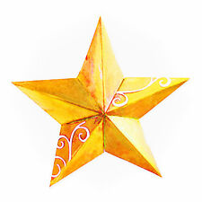 Sizzix Bigz 5-Point 3-D Star die #655158 Retail $19.99 So FUN - 9 1/2 inches!