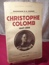 CHRISTOPHE COLOMB - H.-H. HOUBEN - PAYOT -