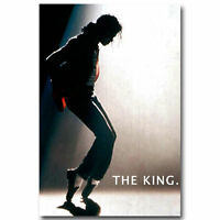 Art Michael Jackson Music Singer Home Wall Fabric Cloth Poster 860