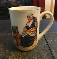 "Vintage Norman Rockwell Museum ""Memories""  Coffee Tea Mug Cup"