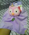 Boppy Plush Lovey Security Blanket Pink Purple Owl Forest Frien Baby Infant NWT