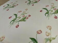 Sanderson Promise Ivory Curtain/Upholstery Fabric 1.5 Metres