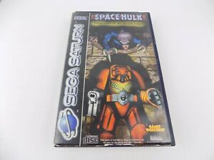 Sega Saturn Space Hulk: Vengeance of the Blood Angels Includes Manual - Tested!