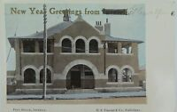 .INVERELL POST OFFICE NEW SOUTH WALES 1908 POSTCARD
