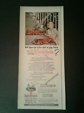 1953 Doepke LaFrance Fire Truck Kids Vintage Model Toy Trade AD