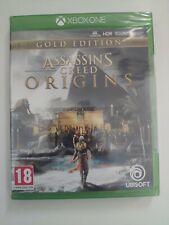 assassin's creed Ac origins gold edition xbox one xboxone neuf