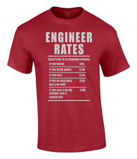 Ingeniero Labour Tasas Camiseta Divertida Hombre Niños Mujer Unisex