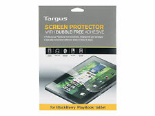 "Targus Blackberry Playbook LCD Screen Protector Bubble 7"" Tablet X6"