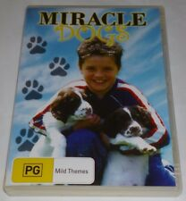 MIRACLE DOGS R4 DVD CHILDREN/FAMILY JOSH HUTCHERSON GOOD CONDITION 2003