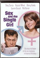 Sex and the Single Girl DVD Movie Natalie Wood Tony Curtis BRAND NEW