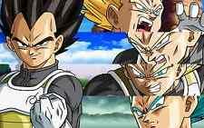 Poster A3 Dragon Ball Vegeta Evolucion / Vegeta Evolution