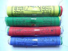 Tibetan Buddhist Prayer Flags - Pack of 40