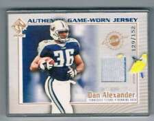 2002 Private Stock Reserve Game Worn Jerseys Patches #119 Dan Alexander NM-MT NM