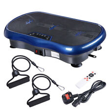 Vibration Plate Crazy Fitness Platform Body Shaker Machine Exercise Home Gym