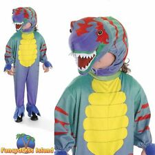 JURASSIC TYRANNOSAURUS DINOSAUR - Age 3-7 Boys Girls Fancy Dress Costume
