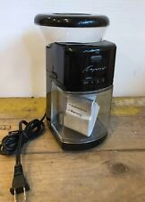 Capresso 558 Burr Coffee Grinder Black Multi Position Espresso Dril French Press