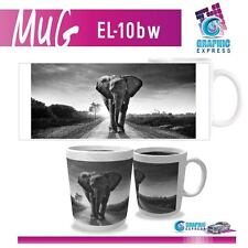 MUG ELEPHANT FELIN  - GRADE A - IMPRESSION PAR SUBLIMATION - EL10BW
