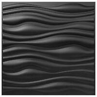 "PVC Wall Panels 3D Textured Bricks13 Packs Art Design 19.7""x19.7"" Waterproof"