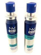 2 X Nuage Mens Shaving Oil With Menthol Cool Fresh & Smooth Shave - 25ML