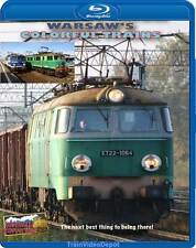 Warsaw's Colorful Trains BLU-RAY NEW Highball Warsaw-Berlin Express Regional