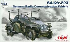 ICM 1/72 (20mm) Sd Kfz 223 Radio Communication Vehicle
