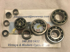 MAICO Magnum 250 400 440 1978 1979 Complete Set of 8 Engine bearings NEW!