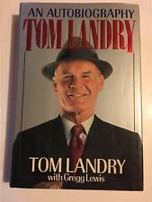 Tom Landry : An Autobiography with Gregg Lewis 1990 Football Dallas Cowboys HC