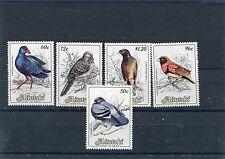 Aitutaki 1984 serie corrente uccelli birds VII serie 390-94 mnh