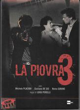 Dvd LA PIOVRA Tre 3 - (1987) (Cofanetto 3 Dischi) Contenuti Speciali ....NUOVO