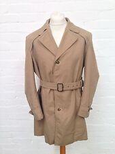 "Mens Vintage Dunn & Co Rain Coat/Mac - 46"" Chest Large - Great Condition"