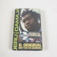 Jeru The Damaja - Come Clean D. Original Dirty Rotten Scoundrel Cassette