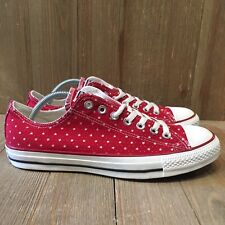 Converse Chuck Taylor All Star Perforated Stars Sneakers Size 8.5 160517F Nwob