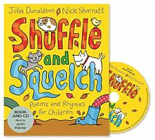 Shuffle and Squelch New Audio CD Book Julia Donaldson, Nick Sharratt