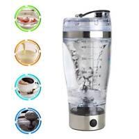 Bouteille shaker électrique protéines Verre mélangeur Portable Blender Drink. B7