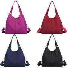 Women Hobo Bag Large Capacity Nylon Waterproof Shoulder Bag Tote Purse Handbag