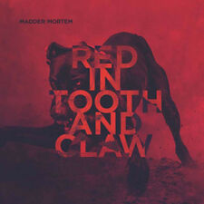 Madder Mortem : Red in Tooth and Claw CD (2016) ***NEW***