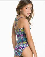 NWT Ondademar girls size 2 3 4 Dahab one piece swimsuit