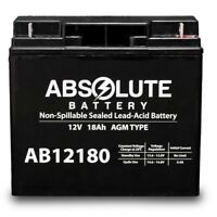 NEW AB12180 12V 18AH UPS Battery Replaces Leoch DJW12-18, DJW 12-18