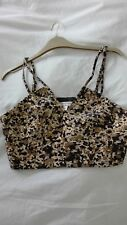 MISS SELFRIDGE SIZE 12, STRAPPY CROPPED TOP, NEW WITH TAGS